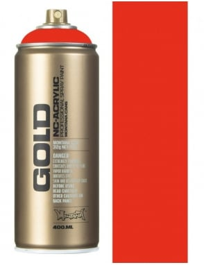 Montana Gold Shock Orange Dark Spray Paint - 400ml