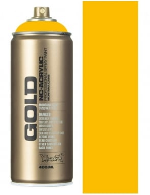 Montana Gold Shock Yellow Spray Paint - 400ml
