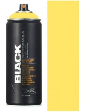 Montana Black Easter Yellow Spray Paint - 400ml